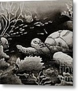 Doomed Sea Life Metal Print