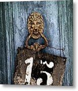 Door 15 Metal Print by Carlos Caetano