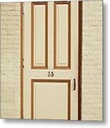 Door 35 Metal Print