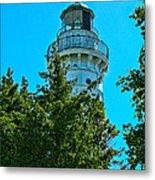 Door County Wi Lighthouse Metal Print