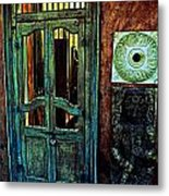 Door Guard Metal Print