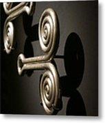 Door Knobs Metal Print