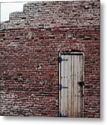 Door To Outside  Metal Print