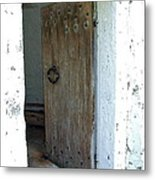 Door To The Old Lighthouse Metal Print