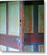 Doors Ajar Metal Print