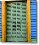 Doors And Windows Buenos Aires 14 Metal Print