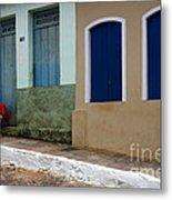 Doors And Windows Lencois Brazil 3 Metal Print