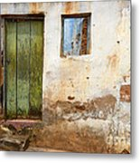 Doors And Windows Lencois Brazil 4 Metal Print