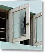 Doors And Windows Lencois Brazil 5 Metal Print