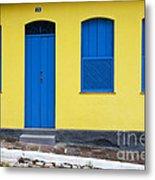 Doors And Windows Lencois Brazil 8 Metal Print