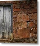 Doors And Windows Minas Gerais State Brazil 3 Metal Print