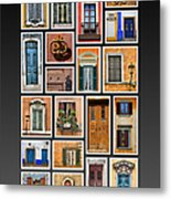 Doors And Windows Of Europe Metal Print