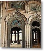 Doors And Windows - Umar Hayat Mahal Metal Print by Murtaza Humayun Saeed
