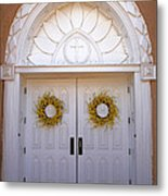 Doors Of San Francisco De Asis Metal Print