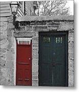 Doors Of St. Augustine Metal Print