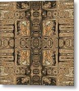 Doors Of Zanzibar Allspice Metal Print
