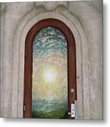 Doorway 17 Metal Print