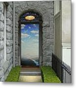 Doorway 2 Metal Print