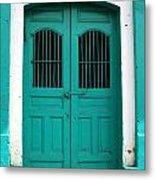 Doorway Of Nicaragua 002 Metal Print