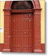 Doorway Of Nicaragua 004 Metal Print