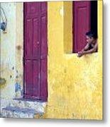 Doorway Of Nicaragua 005 Metal Print