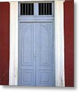 Doorway Of Nicaragua 010 Metal Print