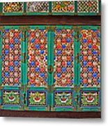 Doorway To The Dharma King Pavilion Metal Print