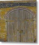 Doorway To The Service Dept. Metal Print