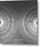 Doppler Effect Parallel Universes Metal Print