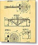 Dopyera Dobro Guitar Patent Art 1933 Metal Print