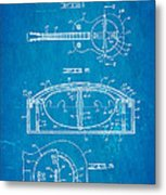 Dopyera Resonator Guitar Patent Art 1936 Blueprint Metal Print