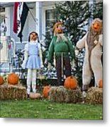 Dorothy And Friends Metal Print