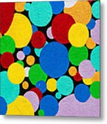 Dot Graffiti Metal Print by Art Block Collections