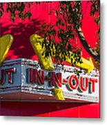 Double Double With Cheese Animal Style Yum Metal Print
