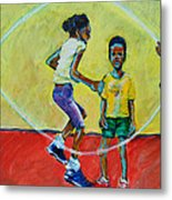 Double Dutch Metal Print