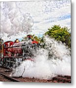Double Header Metal Print