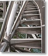 Double Helix Bridge 03 Metal Print