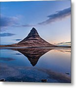 Double Kirkjufell Iceland Metal Print
