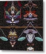 Double Totem Metal Print
