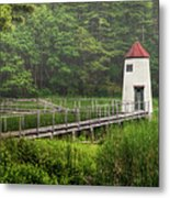 Doubling Point Range Lights Metal Print