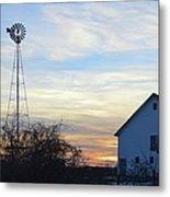 Dougherty Barn Panorama Metal Print