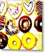 Doughhhnuts Metal Print