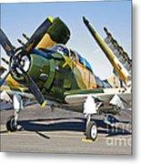 Douglas Ad-5 Skyraider Attack Aircraft Metal Print