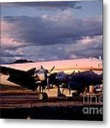 Douglas Dc4 Firefighting Airtanker Metal Print by Wernher Krutein