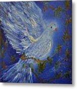 Dove Spirit Of Peace Metal Print by Louise Burkhardt