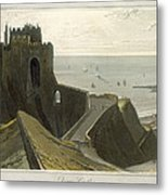 Dover Castle, From A Voyage Around Metal Print