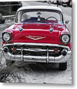 Down At The Shore Metal Print by Edward Fielding