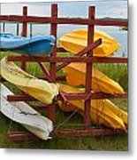 Down By The Bay Metal Print