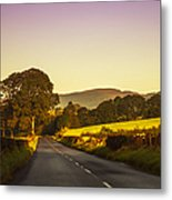 Down By The Road. Scotland Metal Print