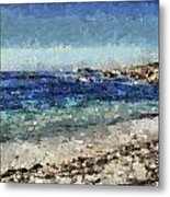 Down By The Sea 1 Metal Print